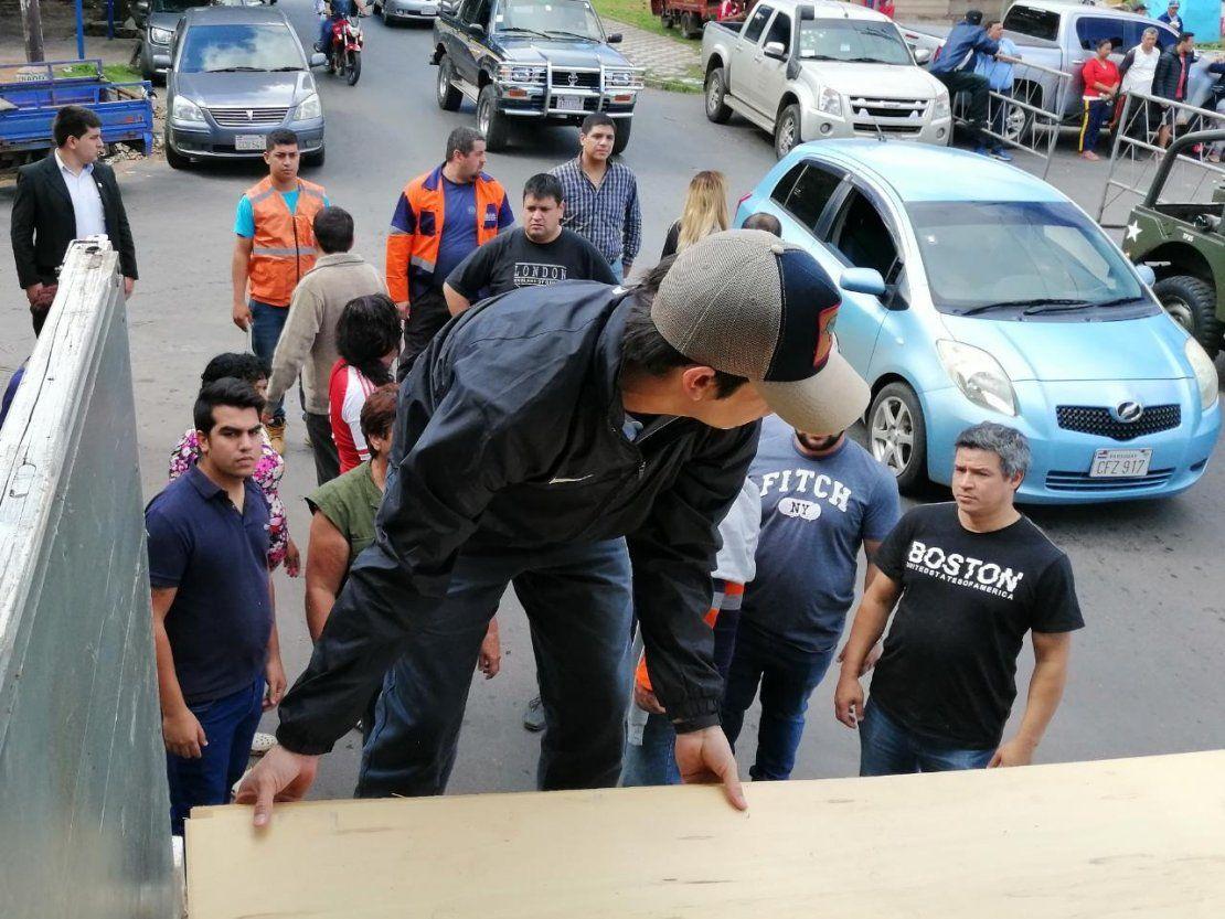 Asistencia llega a 300 familias del barrio Santa Ana de Asunción
