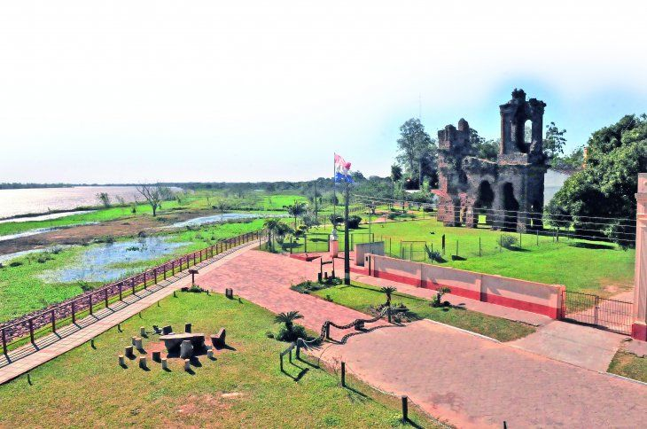 Ruinas de Humaitá. Sitio de gran valor histórico