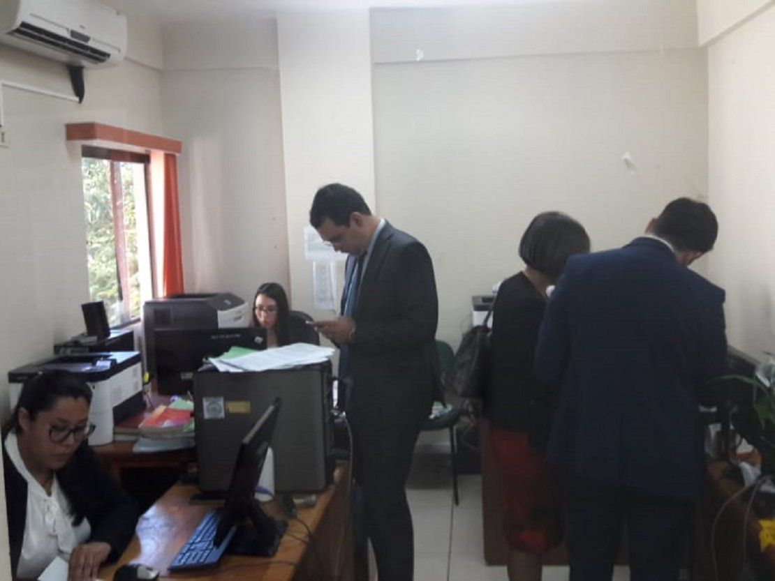 Suspenden audiencia de imposición de Zacarías Irún
