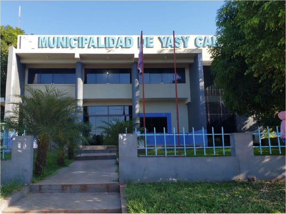 Roban de la Municipalidad de Yasy Kañy G. 22 millones