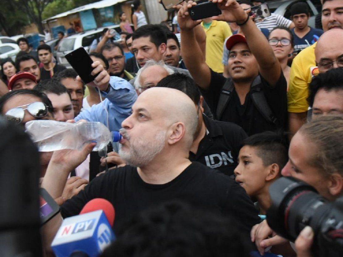 Galaverna quiere que Arnaldo Franco reemplace a Payo Cubas