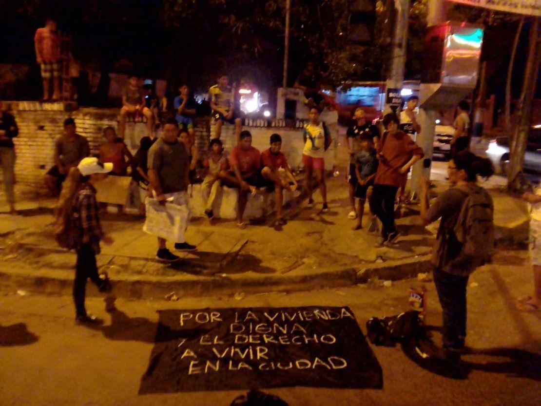 Bañadenses cerraron Artigas y siguen reclamando soluciones