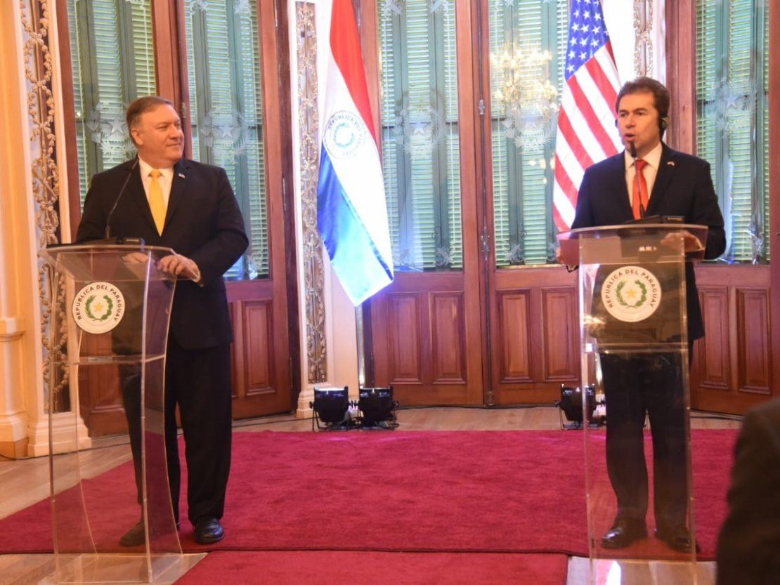 Paraguay y EEUU, unidos contra el tirano Nicolás Maduro