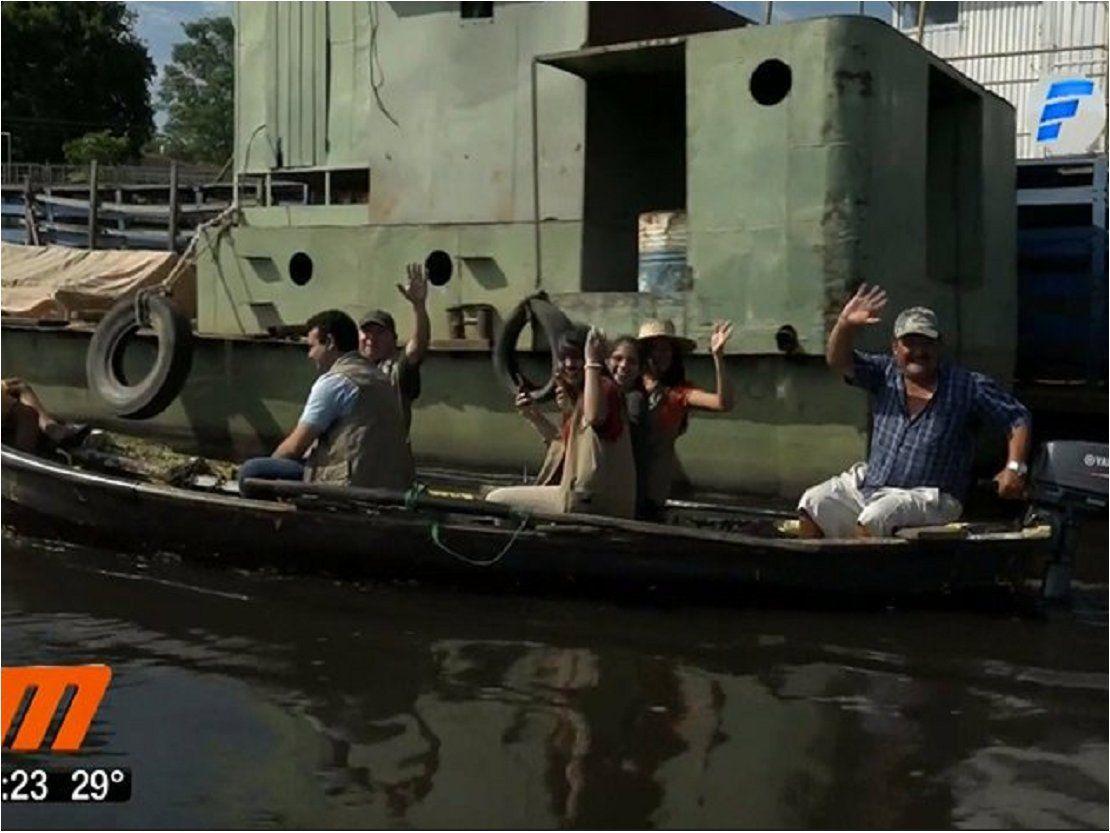 Minga acuática en Mariano Roque Alonso tras mortandad de peces