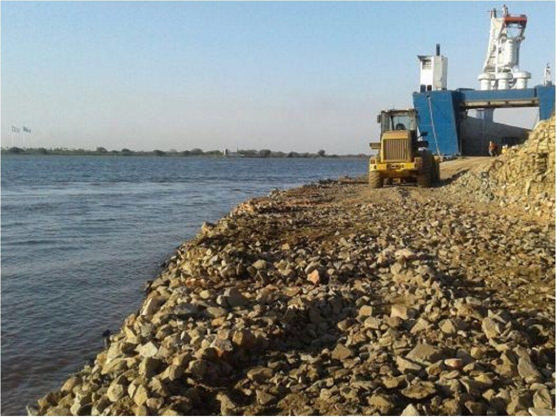 Crecida del río Paraguay ingresa al nivel de catástrofe en Alberdi