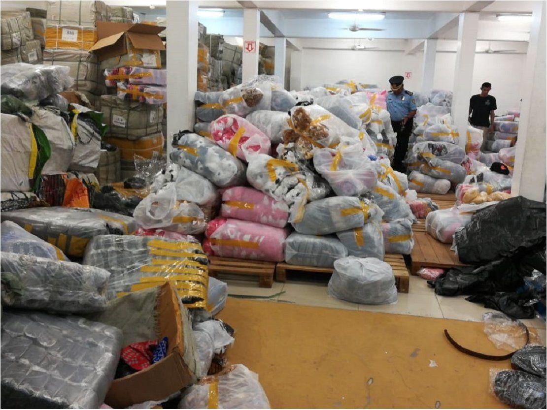 Allanan depósito repleto de mercaderías en operativo anticontrabando