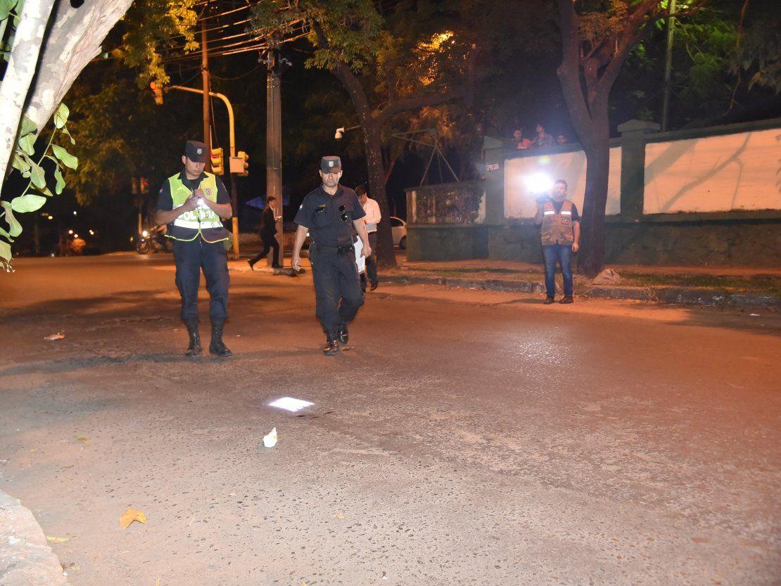 Aprehenden a tres sospechosos por el disparo a un hincha de Olimpia