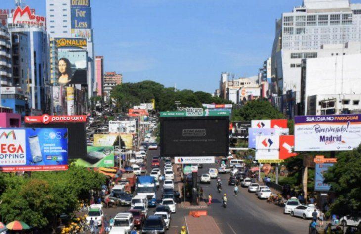 Alerta. En Ciudad del Este crece la preocupación por apertura de tiendas francas en Brasil.
