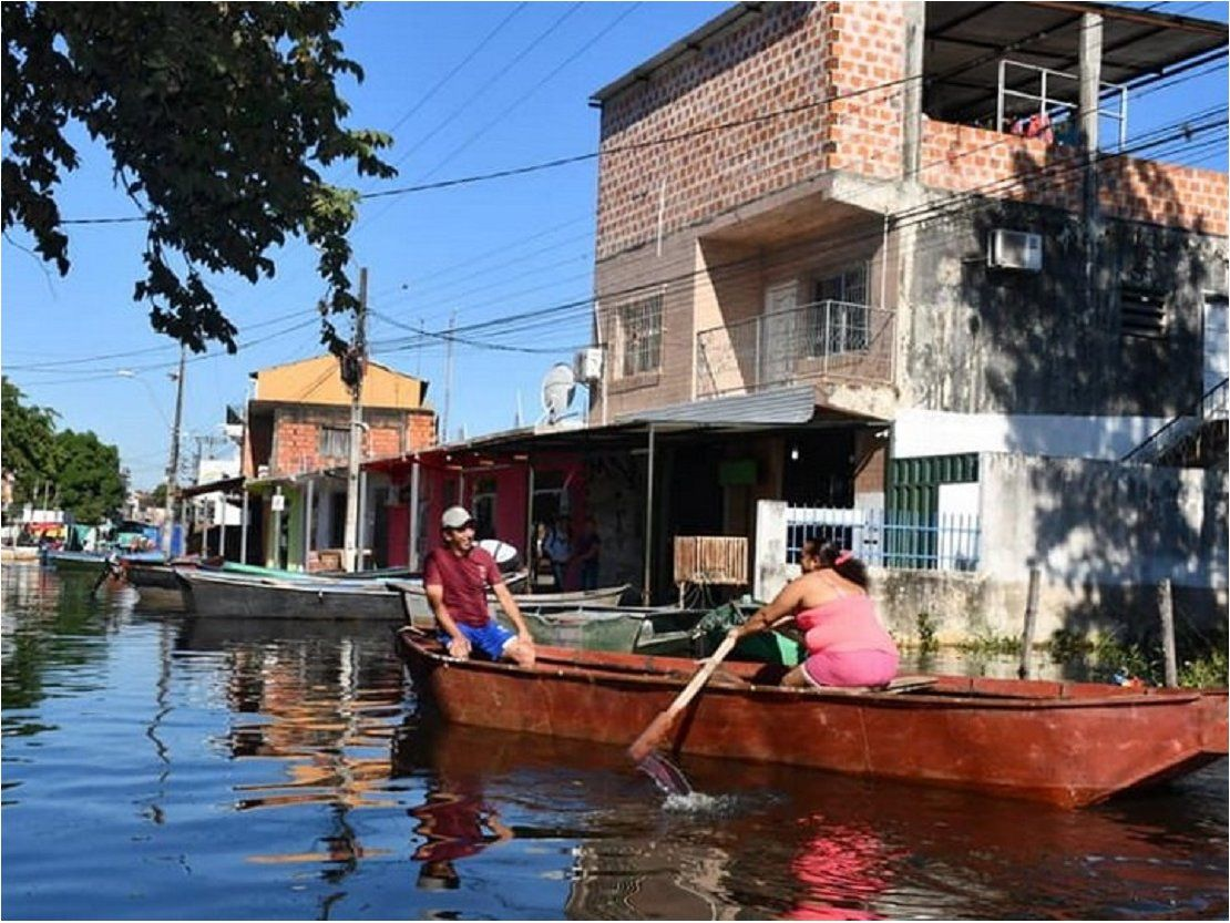 Nanawa se encuentra bajo agua en un 80%, según jefe comunal