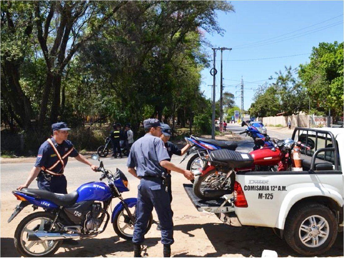 Policía incautó más de 400 motocicletas entre Jueves y Viernes Santo