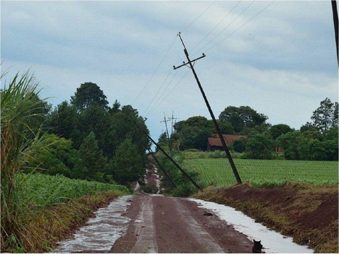Tormentas dejan sin energía eléctrica a localidades de Itapúa