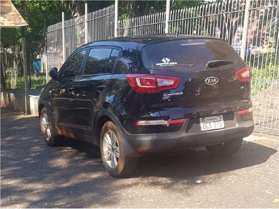 Hallan en el Brasil la camioneta utilizada por brasileños asesinados
