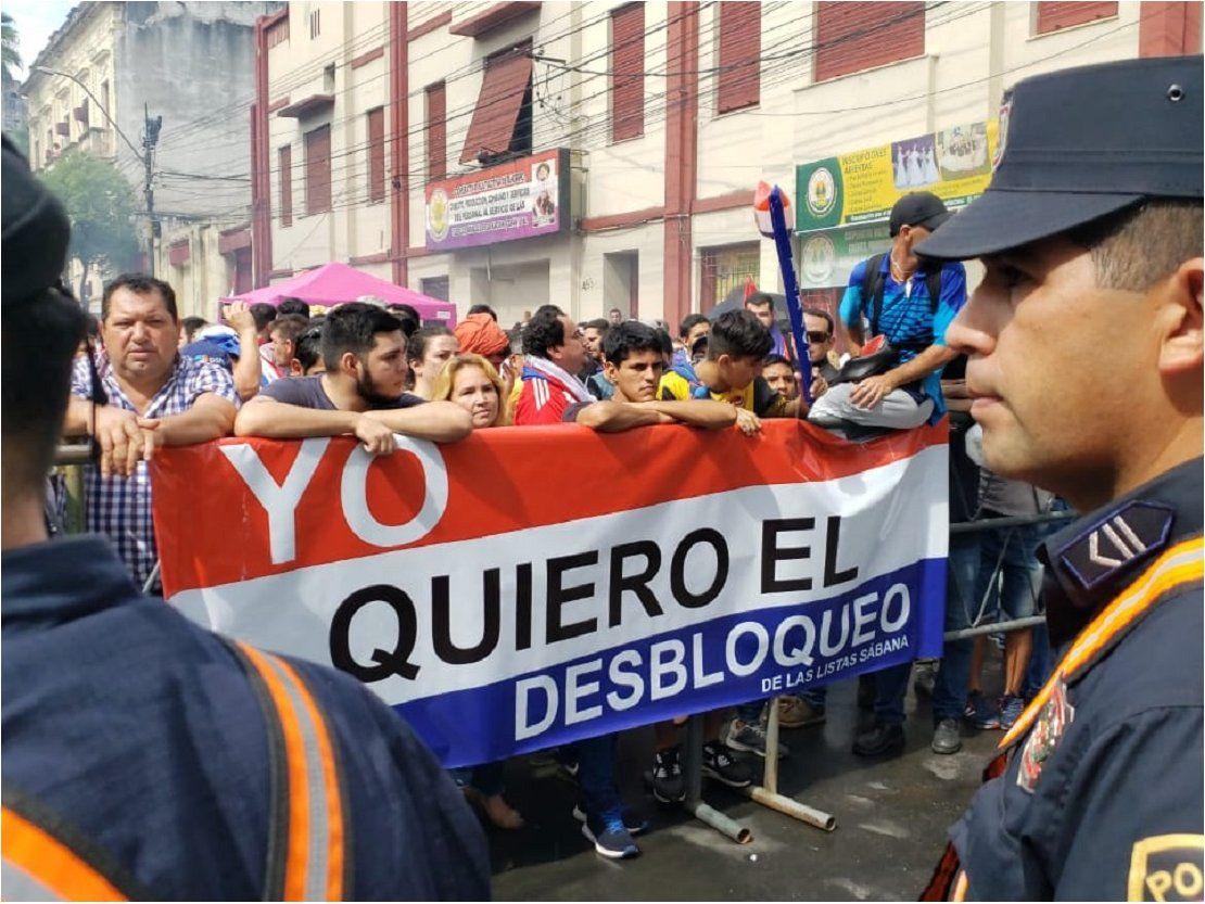 Desbloqueo de listas: Senado rechaza versión de Payo Cubas