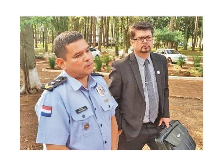 Se defendió. Barrios aseguró que no existió el operativo.