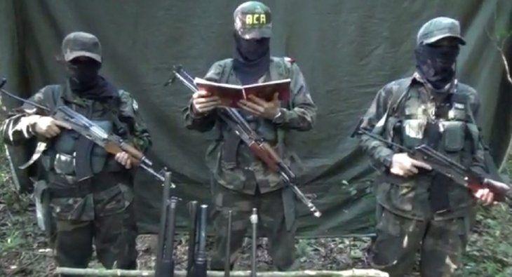 Los supuestos miembros de la ACA se adjudicaron el ataque a la estancia Oro Verde.