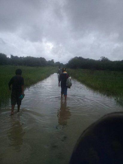 Zonas del Chaco son las más afectadas por las inundaciones.