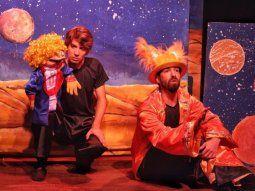 Clásico infantil. El Principito,  propuesta para niños que se presenta en el Teatro Latino.