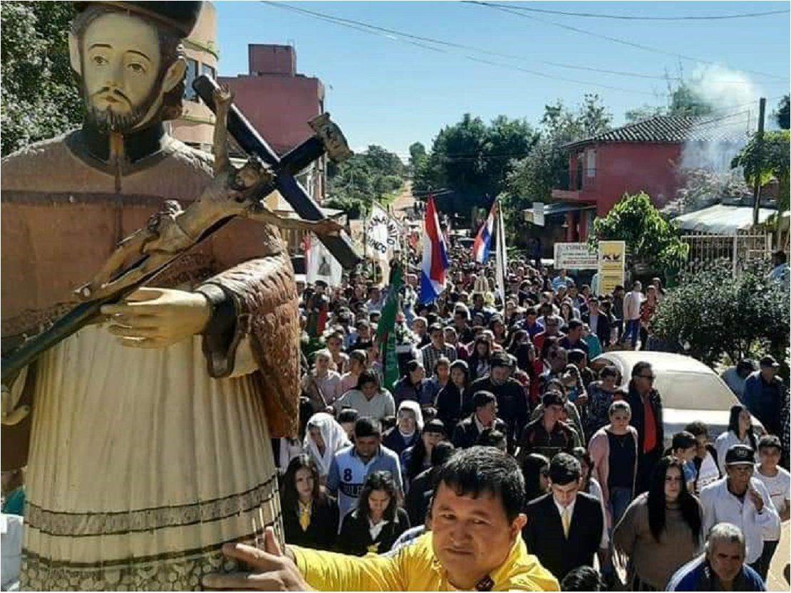 San Juan Nepomuceno está de fiesta | Caazapá, San Juan Nepomuceno, Iglesia Católica, Fiesta patronal - ÚltimaHora.com