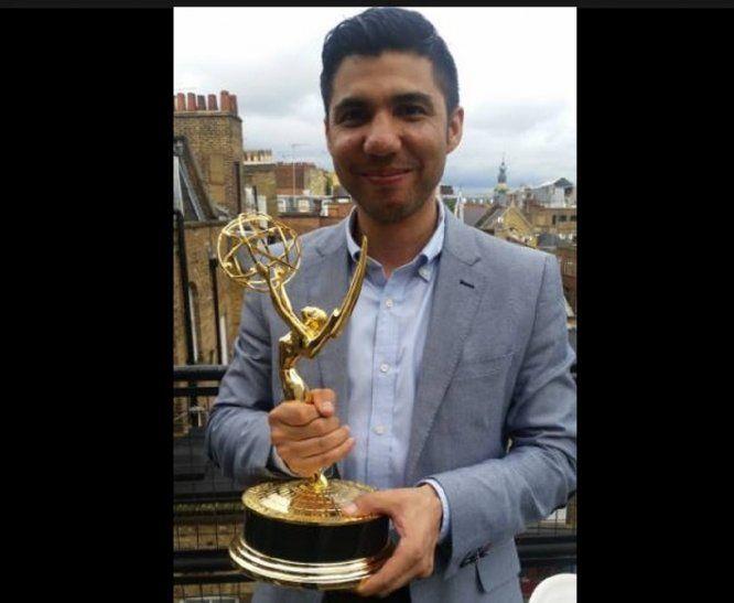Daniel Bogado, ganador de un premio Emmy e hijo de paraguayos.