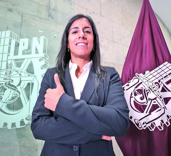 Premiada. Helena Gómez elaboró 5 artículos científicos durante un doctorado en México.