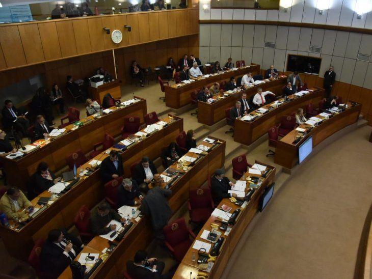 La Cámara de Senadores aprobó en general este miércoles el proyecto de reforma tributaria.