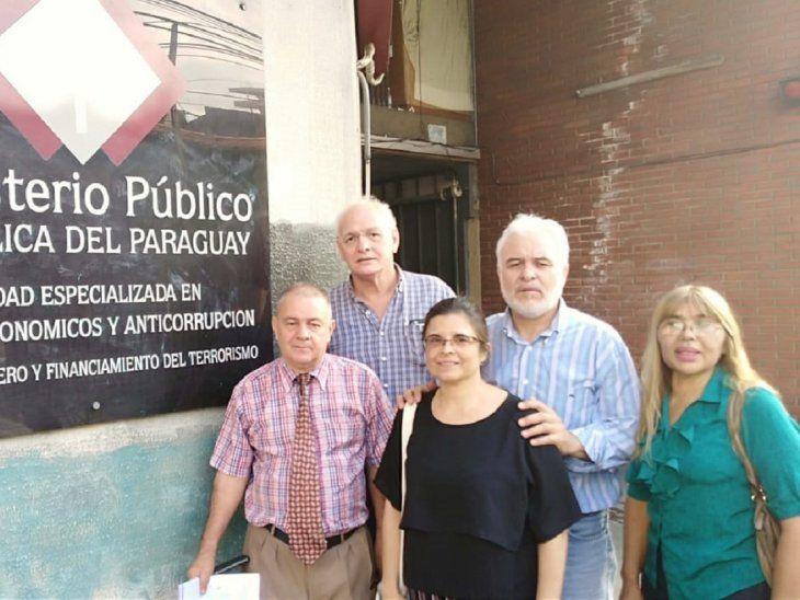 Las denuncias fueron presentadas este martes ante el Ministerio Público y se suman a las que ya tenía López en su contra.