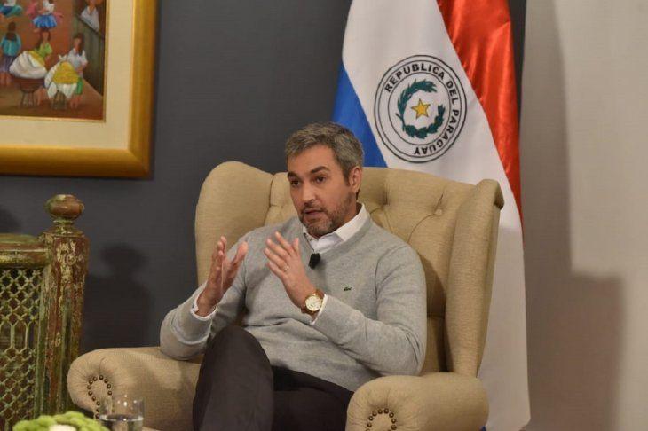 Mario Abdo Benítez