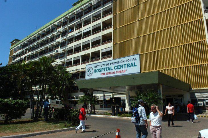 El bebé nació sano en el Hospital Central de IPS