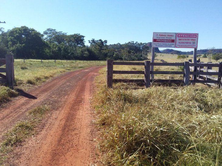 La estancia Iñandui fue atacada por el Ejército del Pueblo Paraguayo (EPP)