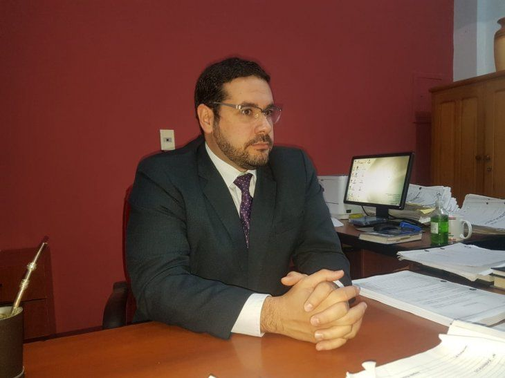 El fiscal Carlomagno Alvarenga