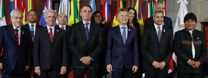 Resultado de imagen para Mercosur presidentes Bolsonaro