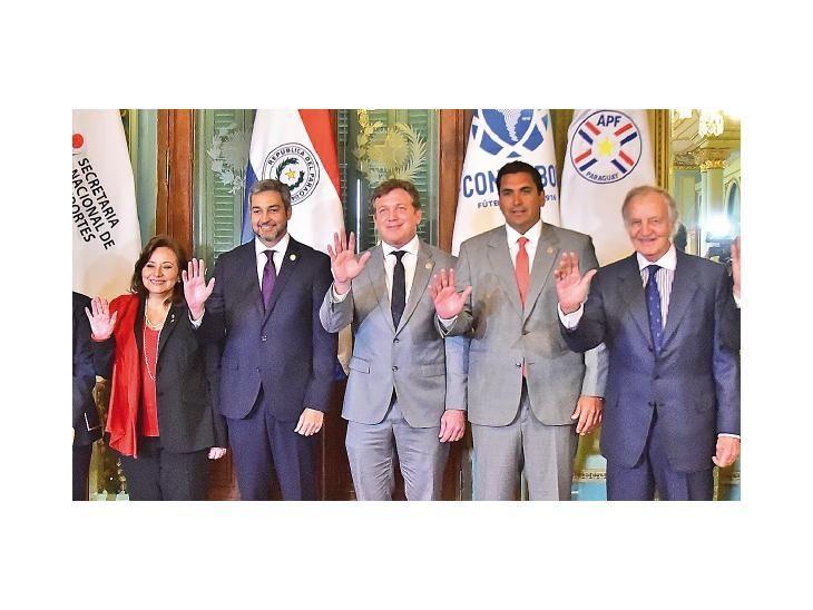 Avances. Ayer se dieron nuevos detalles de candidatura mundialista para el 2030.