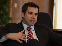 José Cantero, presidente del Banco Central del Paraguay.