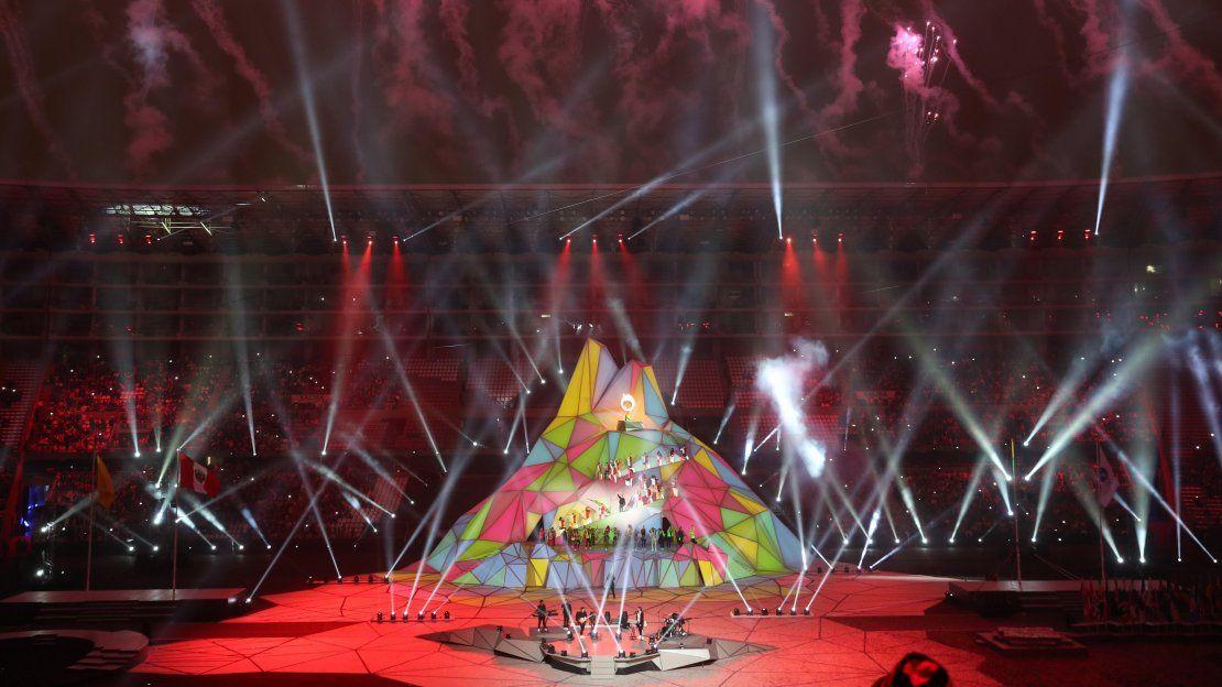 Juegos Panamericanos Lima 2019, la colorida inauguración oficial
