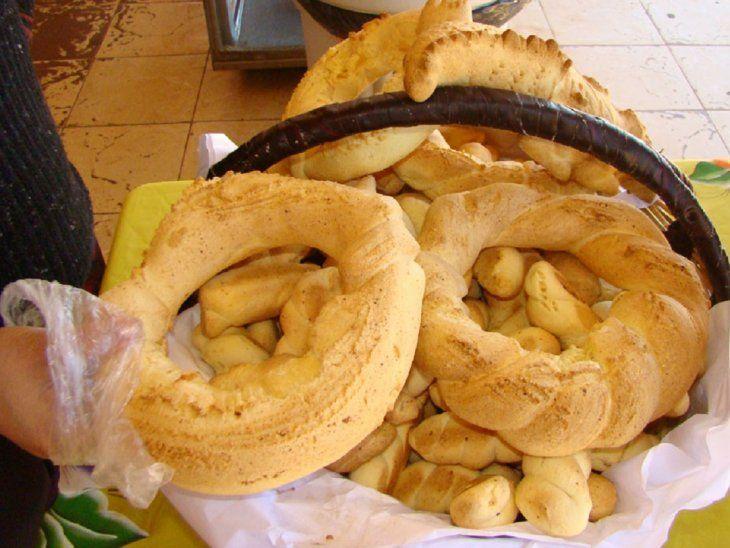 La chipa, elpan sagrado presente en los momentosde religiosidad paraguaya.