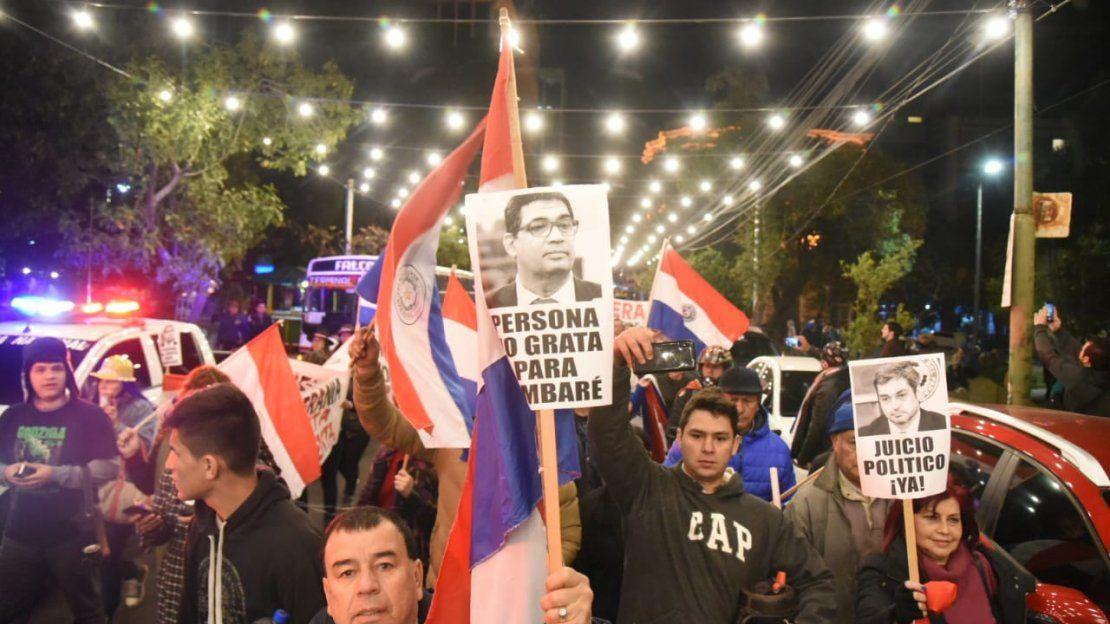¡Elecciones ya!, exigen manifestantes en marcha contra el Gobierno