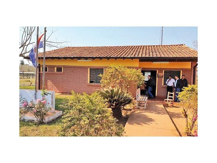 Humilde. La Unidad de Salud Familiar fue mejorada estructuralmente gracias a un exitoso bingo organizado por los vecinos
