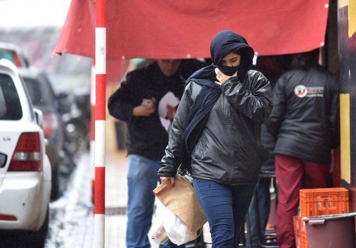 La ola de frío se instalaría en el país durante una semana.