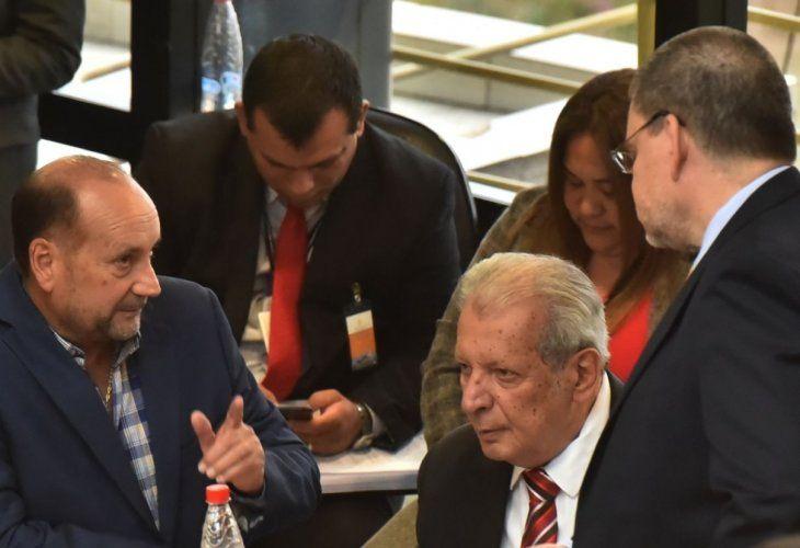Reunión clave. Óscar Salomón
