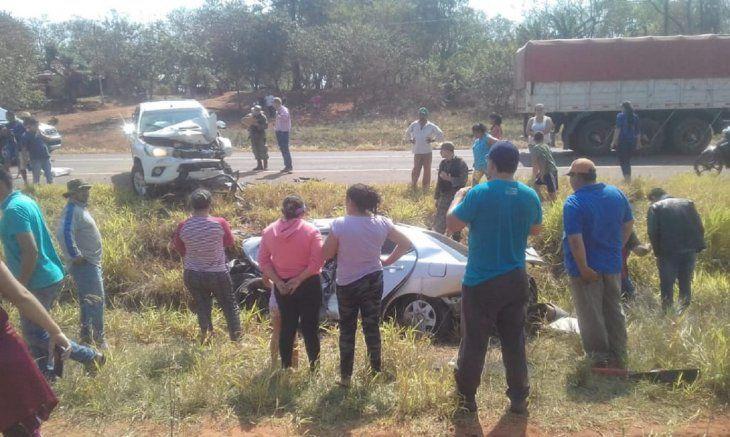 Los testigos del accidente dieron aviso a la policía de la zona.