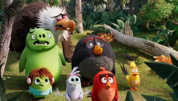Angry Birds 2: una película que invita a perdonar a los