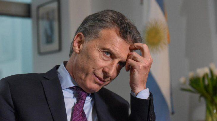 El presidente Macri habló ante sus seguidores y les agradeció por el apoyo que le dieron en el tramo final.