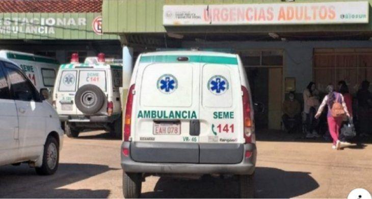El bebé fue llevado de urgencia al Hospital Regional de Encarnación donde confirmaron su deceso.