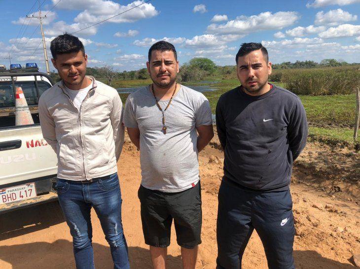 Los tres detenidos quedaron a disposición de la Fiscalía.