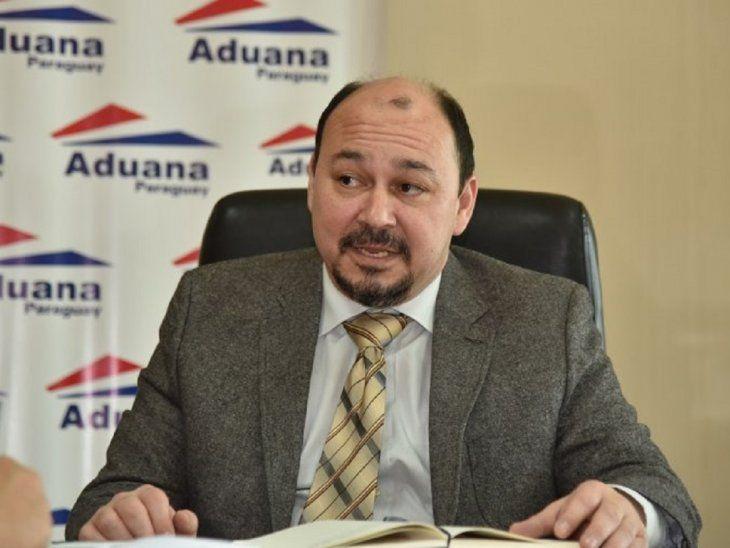 El director de Aduanas, Alejandro Fernández.
