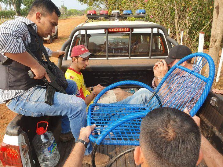 Los detenidos quedaron a disposición de la Fiscalía.