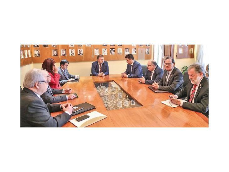 Solicitud. Los rectores pidieron a Hacienda la reposición de casi G. 15.000 millones.
