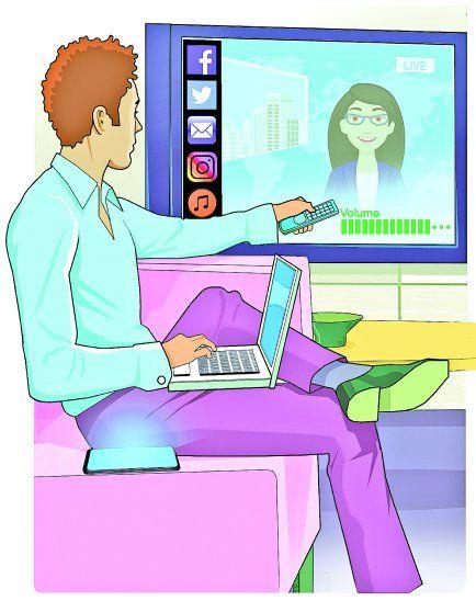 Versatilidad. Los programas de televisión pueden ser vistos a través de varias plataformas.