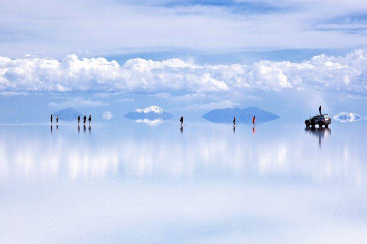 Bolivia promociona el gran salar de Uyuni como epicentro de su turismo