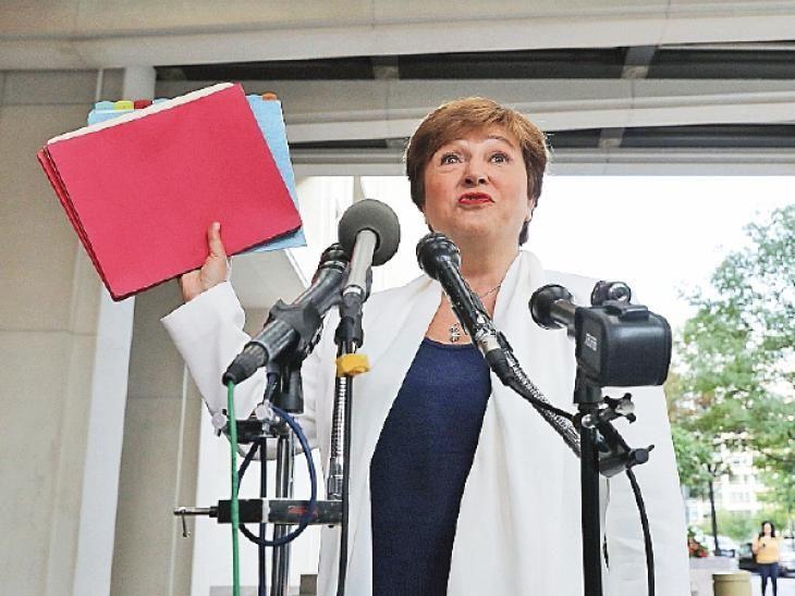 Discurso. Georgieva pintó un panorama preocupante.